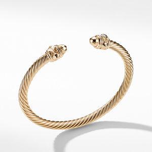Renaissance Bracelet in 18K Gold, 5mm