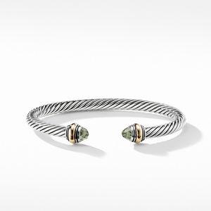 Cable Classic Bracelet Prasiolite alternative image