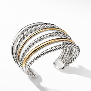 Pure Form® Cuff Bracelet with 18K Gold alternative image