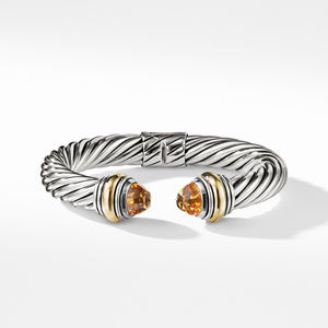 Cable Classics Bracelet with Citrine and 14K Gold, 10mm alternative image