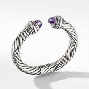 Cable Classics Bracelet with Amethyst, 10mm