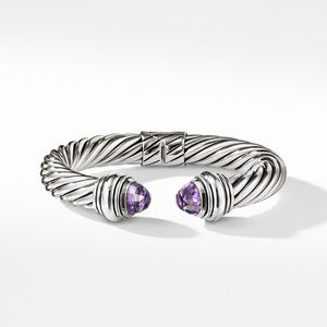 Cable Classics Bracelet with Amethyst, 10mm alternative image