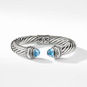 Cable Classics Bracelet with Blue Topaz, 10mm alternative image