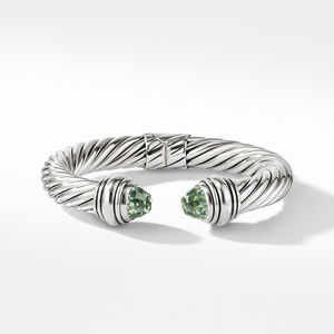 Cable Classics Bracelet with Prasiolite, 10mm alternative image