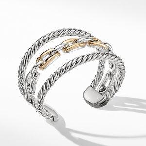 Wellesley Link Multistack Bracelet with 18K Gold alternative image