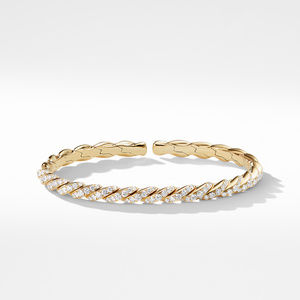 Pavéflex Bracelet in 18K Gold with Diamonds alternative image