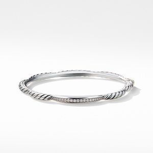 Tides Single Station Bracelet with Diamonds alternative image