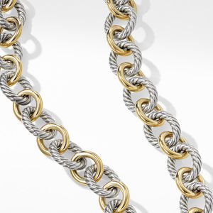 Chain Necklace with 18K Gold alternative image