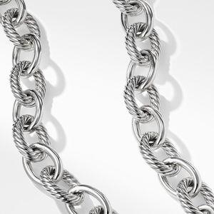Extra Large Oval Link Necklace alternative image