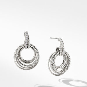 The Crossover Collection® Drop Earrings with Diamonds