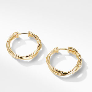 Continuance® Hoop Earrings in 18K Gold alternative image