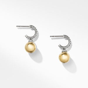 Solari Drop Earrings with Diamonds and 18K Gold alternative image