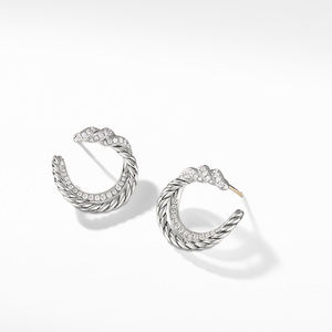 Continuance® Hoop Earrings with Diamonds alternative image