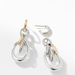 Pure Form® Drop Earrings with 18K Gold alternative image