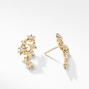 Starburst Constellation Climber Earrings in 18K Gold with Dimaonds alternative image