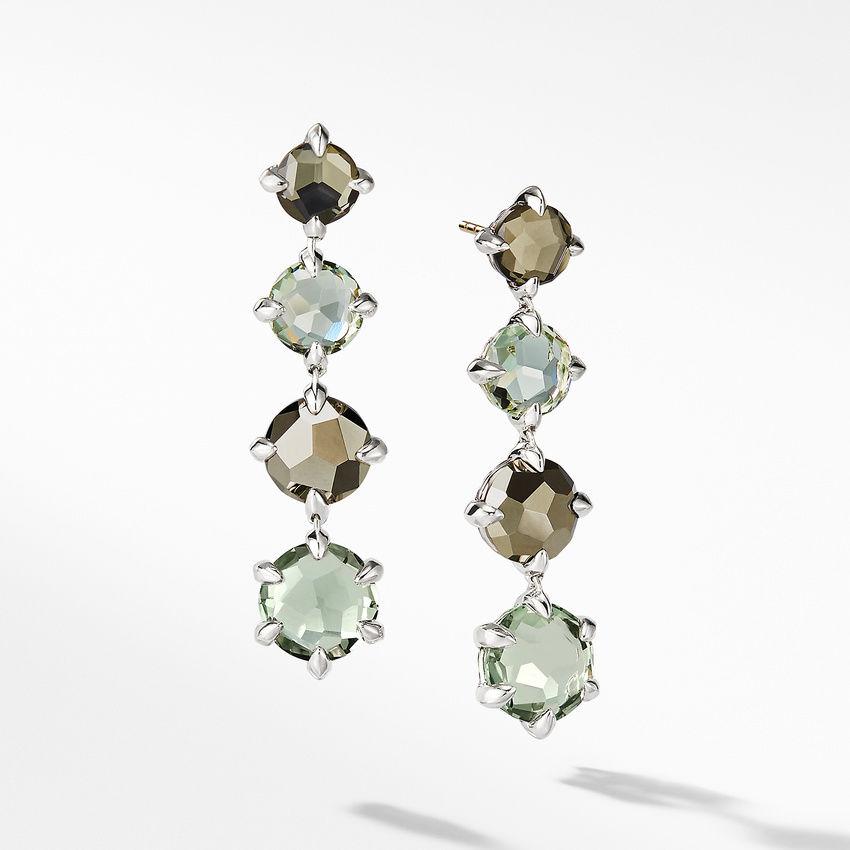 Chatelaine® Drop Earrings with Prasiolite