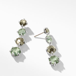 Chatelaine® Drop Earrings with Prasiolite alternative image
