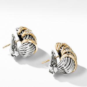 Helena Shrimp Earring with 18K Gold and Diamonds alternative image