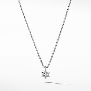 Cable Collectibles® Kids Star of David Necklace with Diamonds
