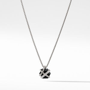 Necklace with Black Onyx and Diamonds
