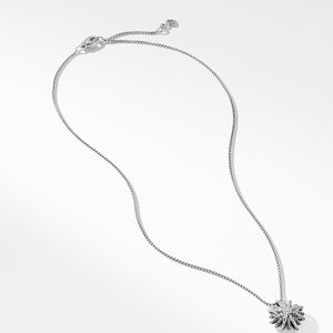 Starburst Small Pendant Necklace with Diamonds alternative image