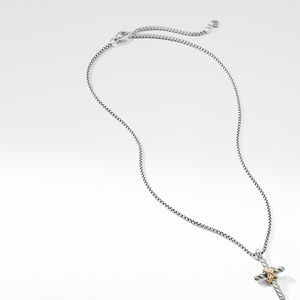 X Cross Necklace with Gold alternative image