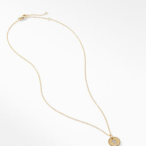 Cross Necklace with Diamonds in 18K Gold alternative image