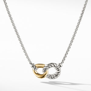 Necklace with 18K Gold