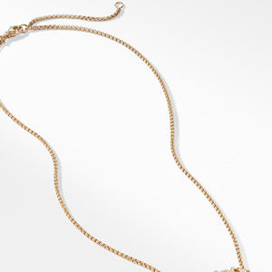 The Crossover Collection® Single Station Necklace  with Diamonds  in 18K Gold alternative image