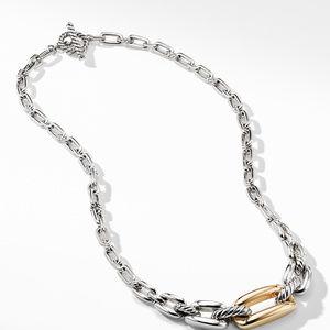 Wellesley Link Short Necklace with 18K Gold alternative image