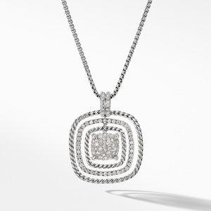 Chatelaine® Pavé Pendant Necklace