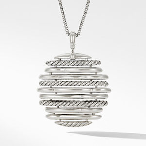 Tides Pendant Necklace with Diamonds alternative image