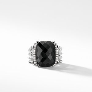 Wheaton Ring with Black Onyx and Diamonds alternative image