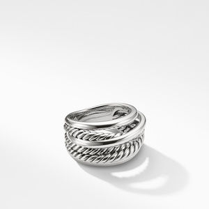 Crossover Narrow Ring