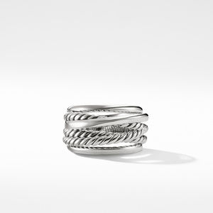 Crossover Narrow Ring alternative image