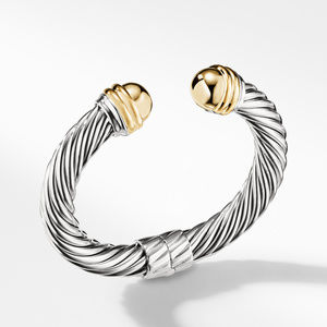 Cable Classics Collection® Bracelet with 14K Gold