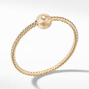 Solari Station Bracelet with Diamonds in 18K Gold