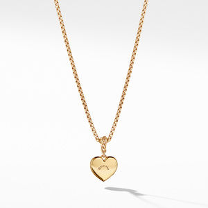 Compass Heart Pendant in 18K Yellow Gold with Diamonds alternative image
