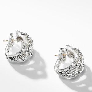 Tides Shrimp Earrings with Diamonds alternative image