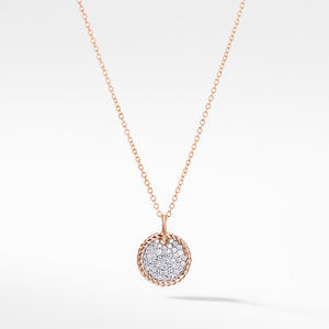 Necklace with Diamonds in 18K Rose Gold