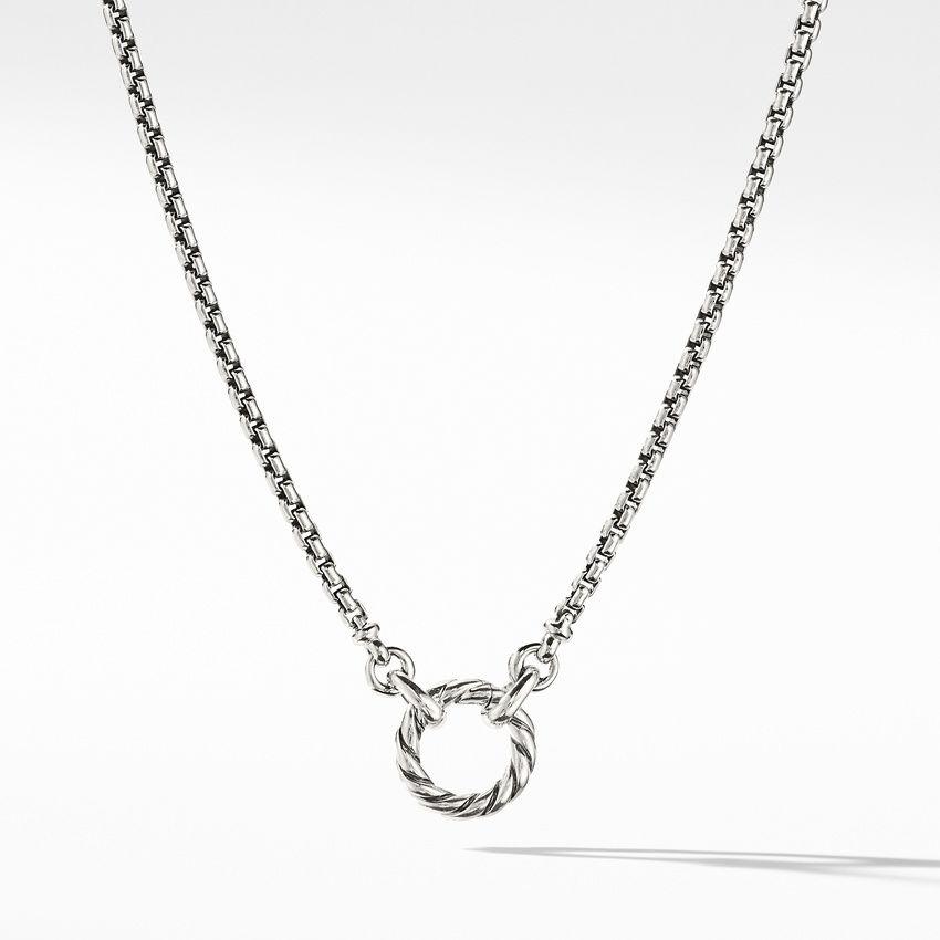 Amulet Vehicle Box Chain Necklace