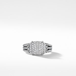 Petite Wheaton Ring with Diamonds alternative image