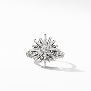 Starburst Ring with Diamonds alternative image