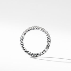Petite Pavé Ring with Diamonds alternative image