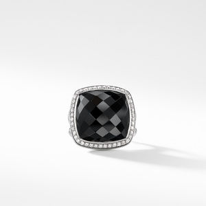 Albion Ring with Black Onyx and Diamonds alternative image