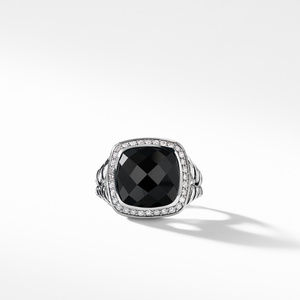 Albion® Ring with Black Onyx and Diamonds alternative image