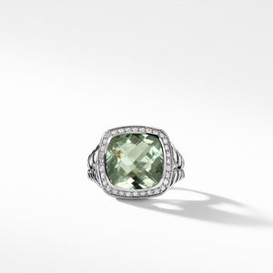 Albion® Ring with Prasiolite and Diamonds alternative image