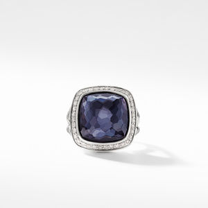 Ring with Lavender Amethyst and Diamonds alternative image