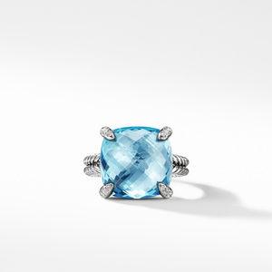 Chatelaine® Ring with Blue Topaz Diamonds 1 alternative image