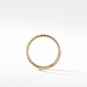 Ring with Diamonds in 18K Gold alternative image